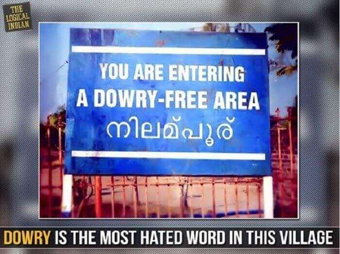 Dowry free area in Kerala