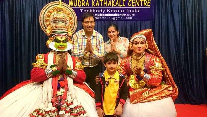 Beautiful Kathakali performance in kerala