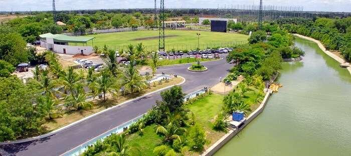The Lahari Resort is one of the best resorts near hyderabad
