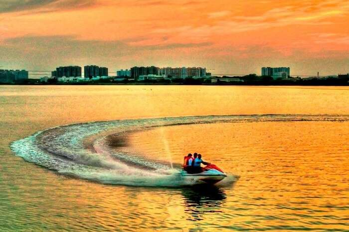 Boating at Muttukadu is one of the most fun things to do in Chennai