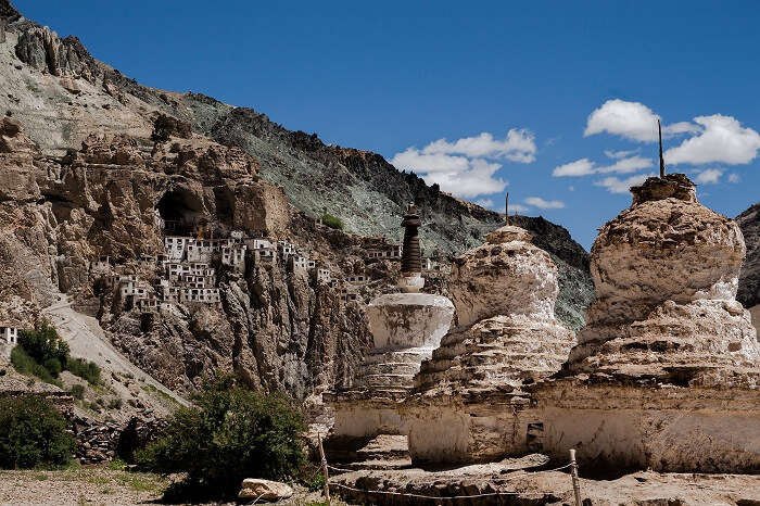 Phugtal Gompa hidden in mountain caves in Jammu & Kashmir