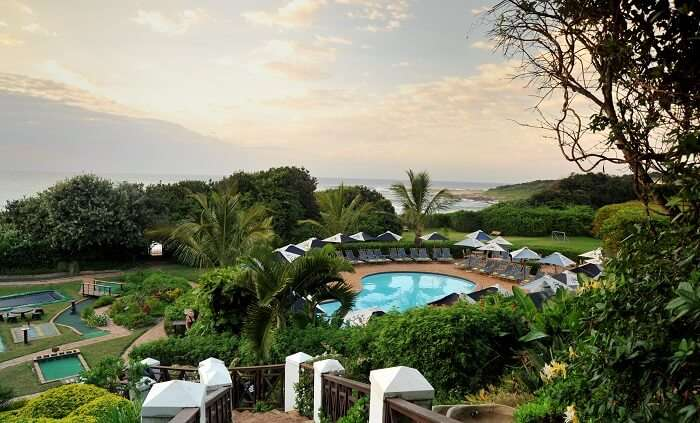 Pumula Beach Hotel is another name among the best resorts in South Africa