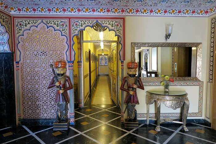 Umaid Mahal is one pf the most decorated resorts in Jaipur