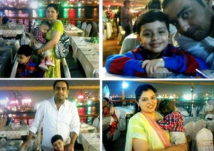 Pictures clicked at the dhow cruise