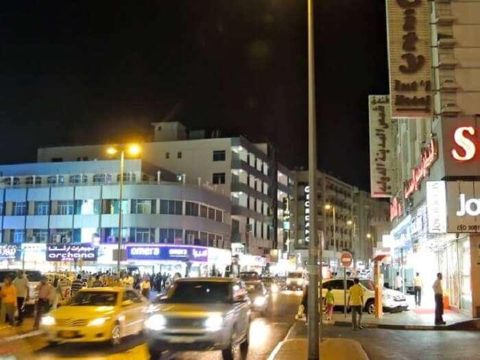Mina Bazar of Dubai