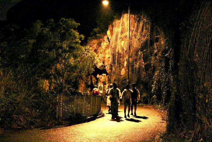 The freaky night treks which are not so common in India