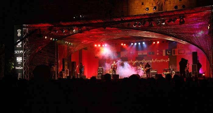 South Asian Band Festival at Purana Quila