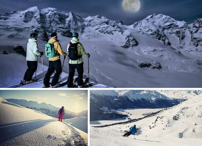 St Moritz is among the popular ski resorts in Switzerland because of its skiing and snow trekking