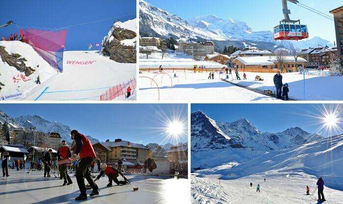 Wengen is among the best ski resorts in Switzerland with a plethora of winter sports to try