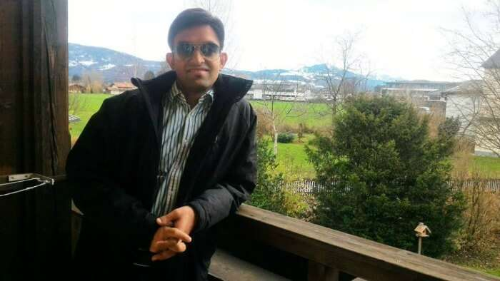Ankush chilling in Europe
