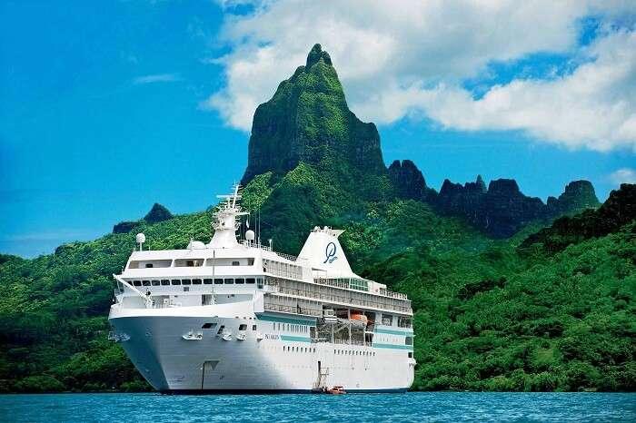 The Paul Gauguin cruise to Bora Bora