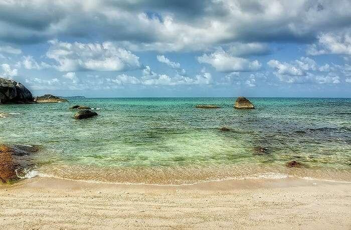 The beautiful Silver Beach in Koh Samui