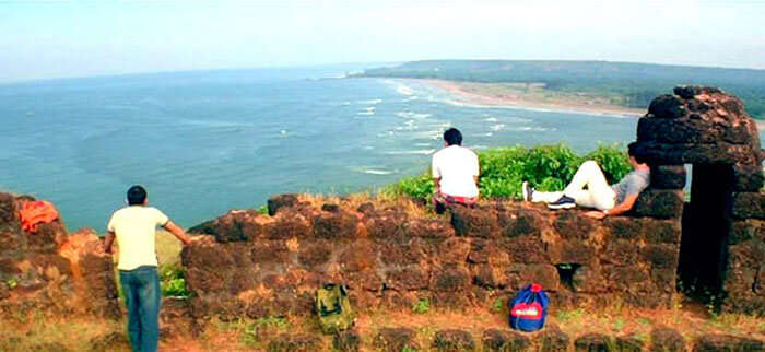 Spend your New Year at Fort Chapora, the fort famous for Dil Chahta Hai