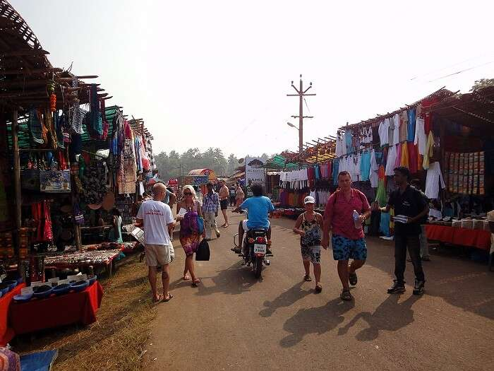 flea market in Anjuna