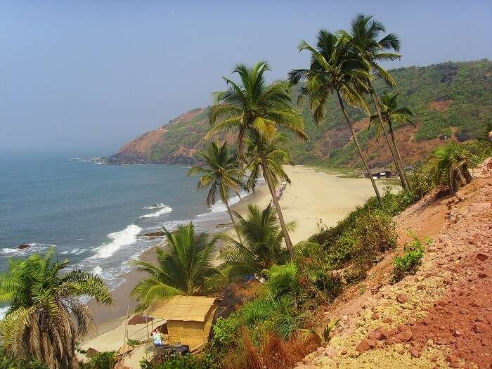 arambol beach view