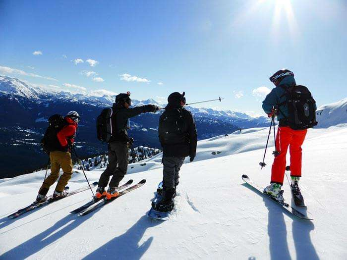 Snow floors in Uttarakhand for perfect ice-skiing