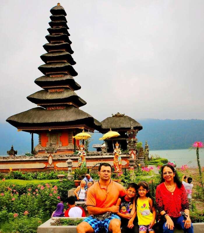 Visiting the historically stunning Bratan Temple