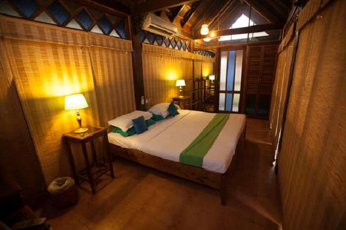 The interiors of Cavala Seaside Resort are quite tasteful