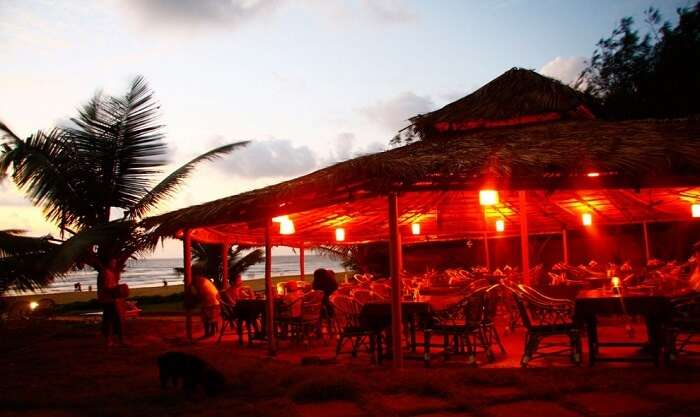 The beautiful private sea shack at Chalston Beach Resort make it a popular Goan hotel near Baga Beach
