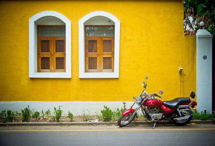 A house in Pondicherry, beside the Chennai-Pondicherry road