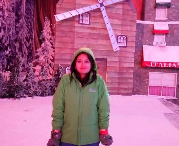 At the Snow world, Genting Island