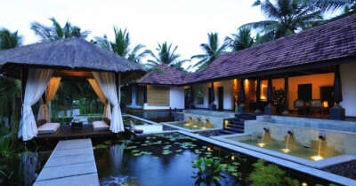 Spa area of the Niraamaya Retreats Surya Samudra - one of the best beach resorts in Kerala