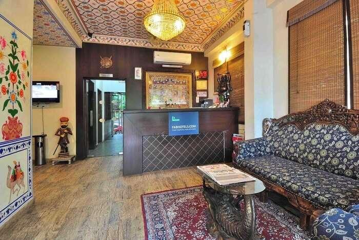 Fab Hotel Baga II is an artistically decorated hotel in Goa near Baga Beach