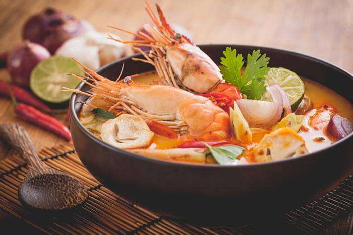 The delicious Thai cuisines in Pattaya