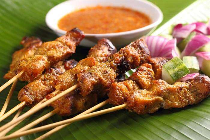 The food in Phuket, an amalgamation of different types of cuisines