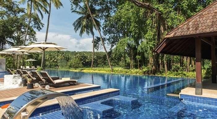The luxuries of Grand Mercure Goa Shrem Resort make it one of the best hotels in Goa near Baga Beach