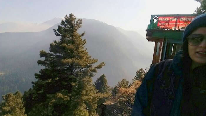 Hill view from Pahalgam