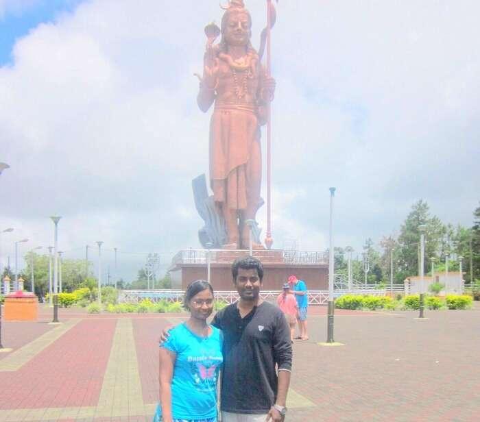 South Island Tour Shiv Mandir Mauritius