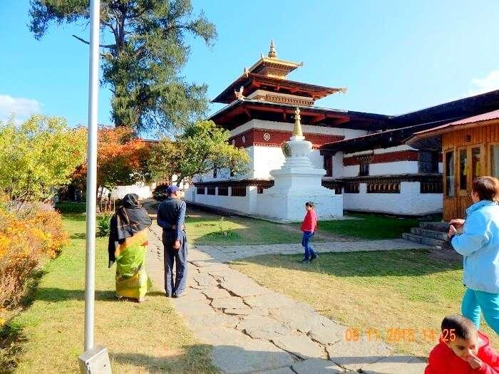 Kyichu Lakhang in Bhutan