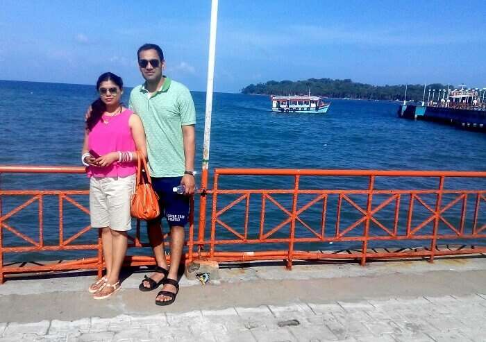 Arriving at Port Blair