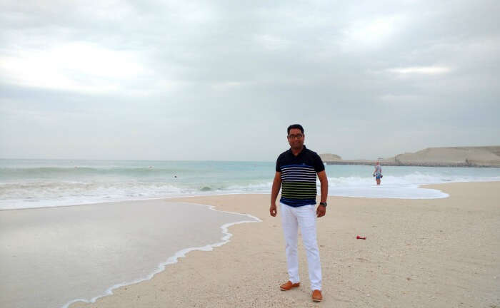 Ojas at the beautiful Jumeirah beach
