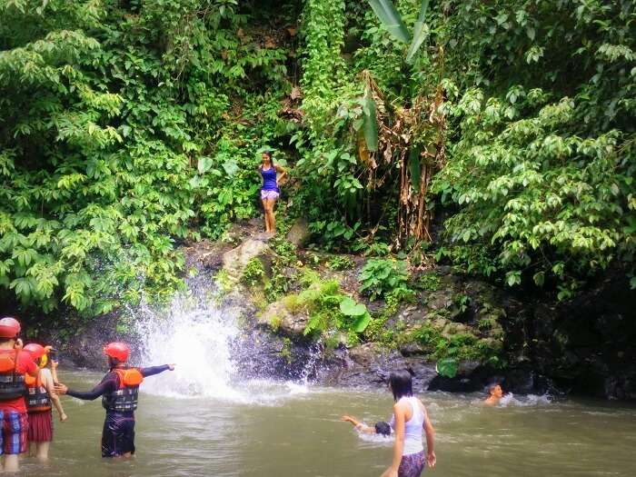 River rafting in Ayung