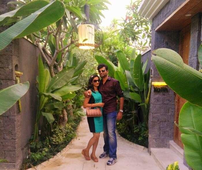The resort in Bali