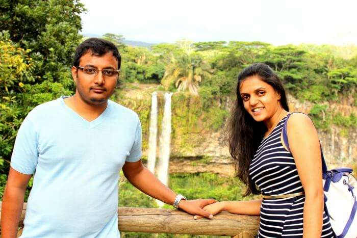 Chiranth enjoying the south trip in Mauritius