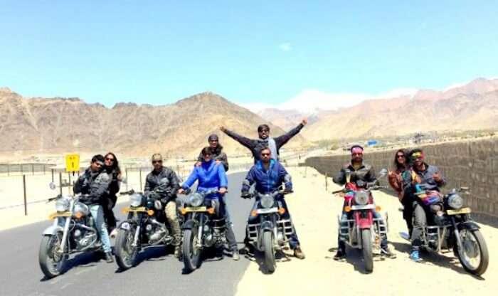 Ladakh on Bikes
