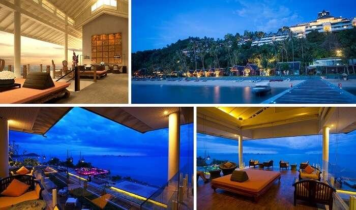 Many views from the Intercontinental Baan Resort at Taling Ngam