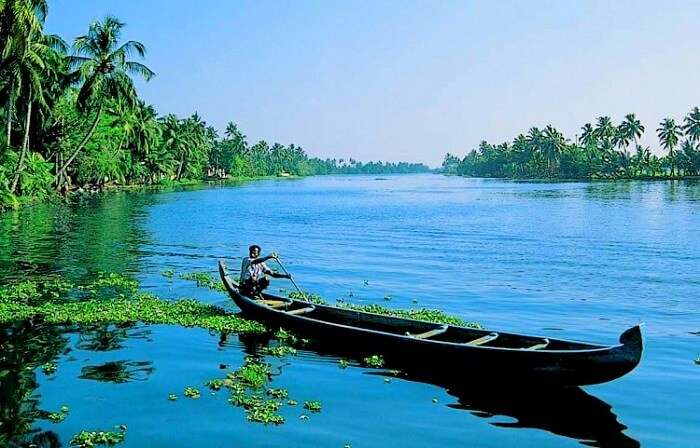 Backwaters cruise in Kerala