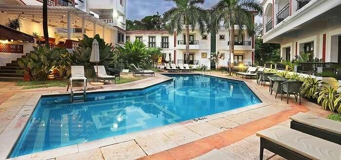 Keys Ronil Resort boasts of being a well spaced Goan hotel near Baga Beach