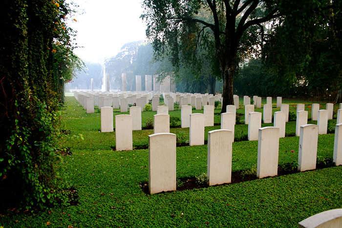 Kirkee War Cemetery in Pune