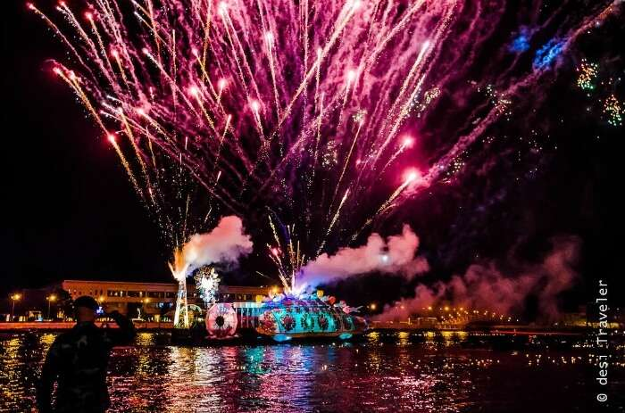 Loi Krathong celebrations in Thailand