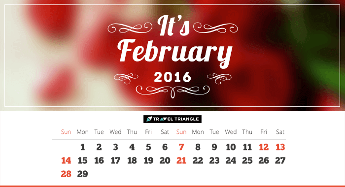 List of all the long weekends in February 2016