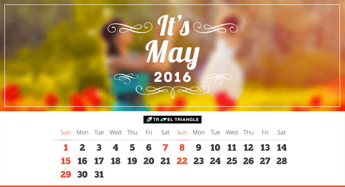 List of all the long weekends in May 2016