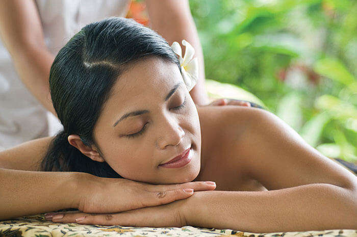 The awesome massage in Bali