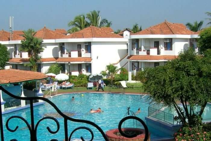 People enjoying their stay at Paradise Village Beach Resort in Goa