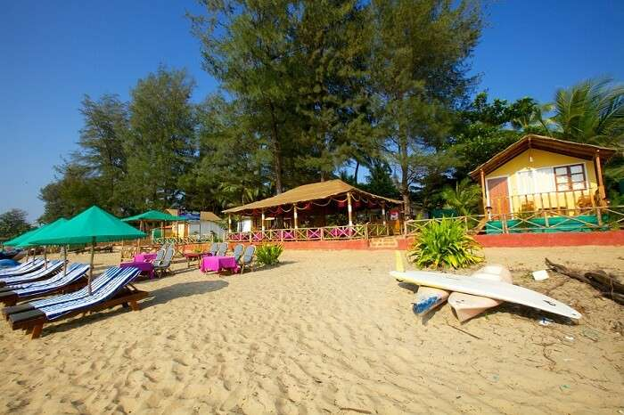 The idyllic settings of Patnem beach makes it the best among South Goan beaches