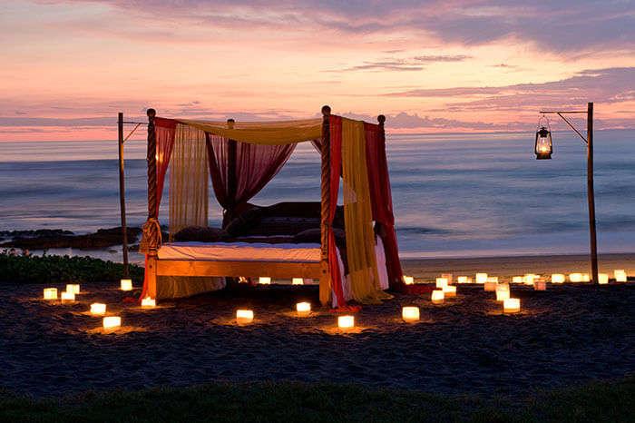 Romantic Dinner in Bali